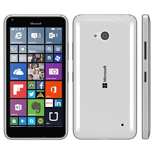 PREMIUM - Flip Case für - Nokia Lumia 520 / 525 - Wallet Cover Hülle Schutzhülle Etui Tasche Schwarz Transparent