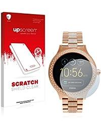 upscreen Scratch Shield Displayschutzfolie für Fossil Q Venture Schutzfolie – Kristallklar, Kratzschutz, Anti-Fingerprint