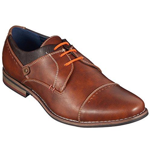 Di FICC hiano© Premuim di lacci cerati, runds Nipoti per affari, Vestito e scarpe in pelle, Ø 2–3mm, Lunghezza 45–120cm, resistente agli strappi Orange