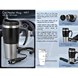 House Of Gifts Car heater mug: with car / USB charger