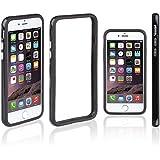 Xcessor Classic Bumper Étui Coque Housse Pour Apple iPhone 7. Caoutchouc et Plastique. Noir