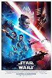 Affiche Cinéma Originale Grand Format - Star Wars 9 : L'ascension De Skywalker (format 120 x 160 cm pliée) Année 2019...