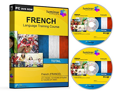 Learn to Speak French - Language Training Course Software - Six Extensive Courses (2 Disc Set) (PC) Test