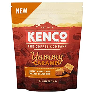 Kenco Barista Edition Yummy Caramel Instant Coffee, 66 g, Pack of 6 by Jacobs Douwe Egberts