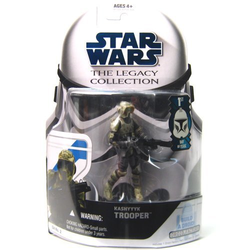 Star Wars The Legacy Collection Kashyyyk Trooper Build A Droid 3 3/4 Inch Scale Action Figure Gh No. 2
