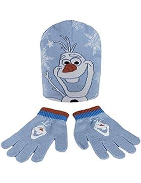 Disney Set Invernale Guanti e Cappellino Frozen - Olaf