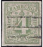 Goldhahn Hamburg Nr. 5 b gestempelt und Geprüft Briefmarken für Sammler