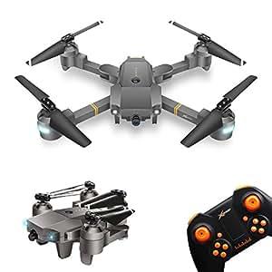Drone Pieghevole con Telecamera XT-1 WINGLESCOUT RC Quadcopter Pieghevole Telecamera HD 720P Wifi[APP Controllo] Video FPV Grandangolare / Sensore di Gravità / Modalità Senza Testa / Tenuta Altitudine(Versione Aaggiornata)