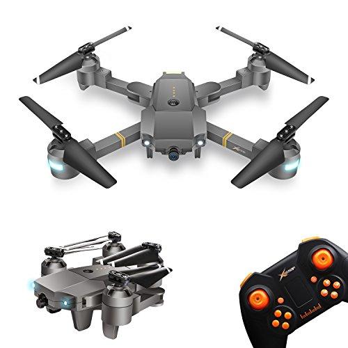 Drone Pieghevole con Telecamera XT-1 WINGLESCOUT RC Quadcopter Pieghevole...
