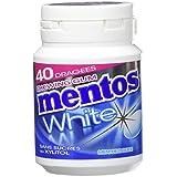MENTOS GUM Pack de 6 Boîtes White Menthe Douce (360 g)