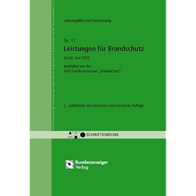 pdf leistungen fr brandschutz aho heft 17 erarbeitet von der aho fachkommission brandschutz kostenlos download - Architektenvertrag Muster Kostenlos