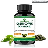 Nutriherbs Green Coffee Bean Herbs Natural Weight Loss Supplement 800Mg (50% Cga) 90 Capsules Pack Of 1