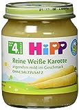 HiPP Reine weiße Karotte, Bio, 6er Pack (6 x 125 g)