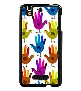 PrintVisa Designer Back Case Cover for YU Yureka :: YU Yureka AO5510 (sportsshoe casuelshoe formalshoe flip Designer)