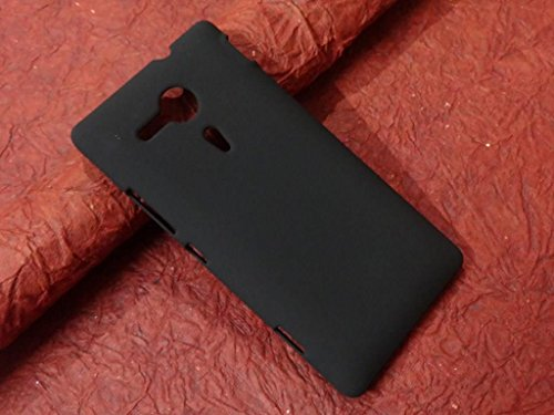 RJR Matte Finish Hard Back Case Cover For Sony Xperia SP M35H-Black  available at amazon for Rs.149