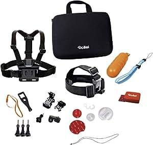Rollei Actioncam Zubehör Set Wassersport - Ideal zum Surfen, Tauchen, Kiten usw - Für Rollei Actioncams und GoPro