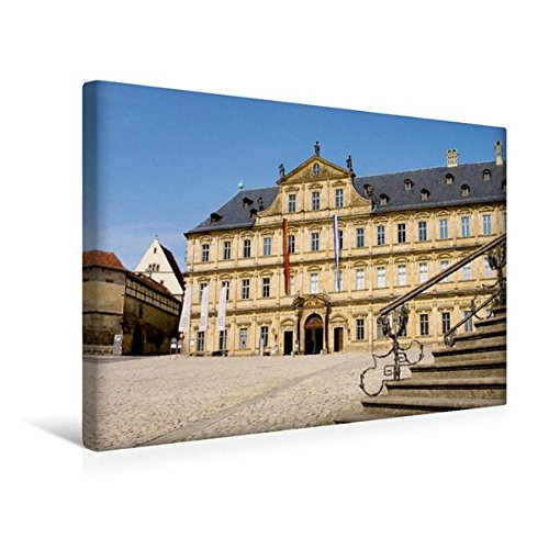 Calvendo Premium Textil-Leinwand 45 cm x 30 cm Quer, Bamberg Residenz | Wandbild, Bild auf...