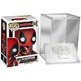 Funko Pop: Marvel - Deadpool Two Swords Vinyl Figure + FUNKO PROTECTIVE CASE