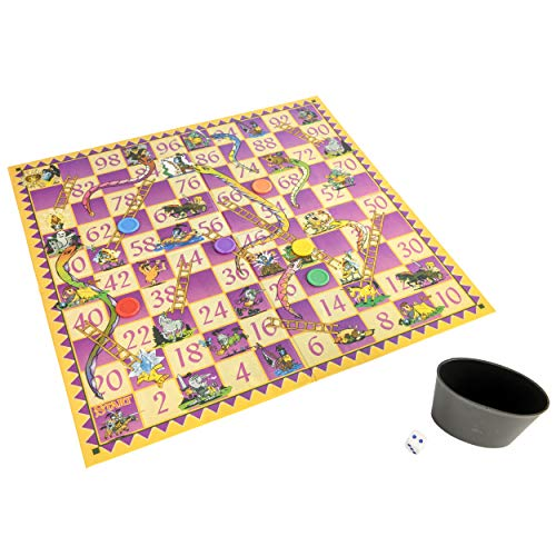 Snakes and Ladders Boxed [UK Import] - Ladders Snakes