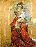 Kunstdruck/Poster: Henri de Toulouse-Lautrec Jeanne