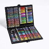 JK 168-teiliges Kunst-Sets, Aquarell-Markerstift, professionelle Bleistifte, Ölkreide, Mal- und Zeichenset, perfekt für Kinder, Anfänger, Künstler