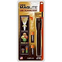 Maglite Mini - flashlights (Hand flashlight, Black, Aluminium, LED, AA, Alkaline)