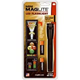 Mag-Lite Mini  2AA LED,97 Lumen, 17 cm schwarz inkl. 2 Mignon-Batterien und Nylonholster, SP2201H