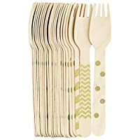 FiveSeasonStuff Disposable Paper Tableware, Deconrations for Birthday Parties, BBQ, Receptions, Meetings, Weddings, Celebrations, and Events