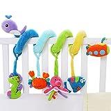 SHILOH Baby Spirale Plüschtiere Spielzeug für Babyschale Kinderwagen