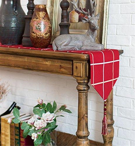 Sucastle 20X90cm Tuch Tischläufer Hochzeit Tischband ,abwaschbar (Farbe...