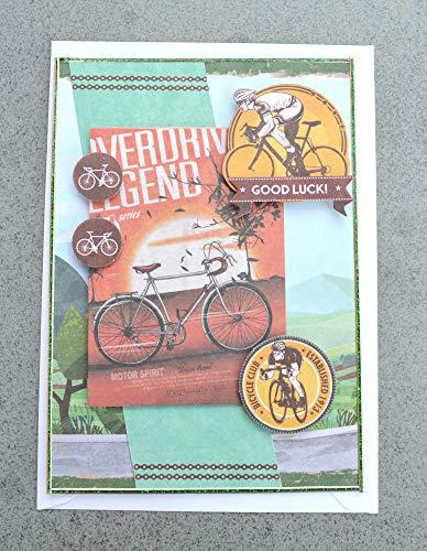 3D Karte Fahrrad inkl Umschlag