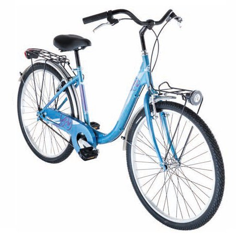 Preisvergleich Produktbild 26 Zoll Damen City Fahrrad Alpina Beauty,  Farbe:blau