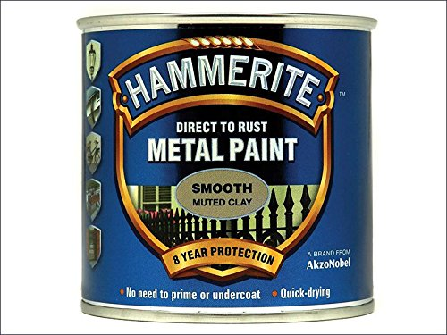Ton-finish (Hammerite sfmc250250ml direkt auf Rost Glatte Finish–gedeckten Ton)