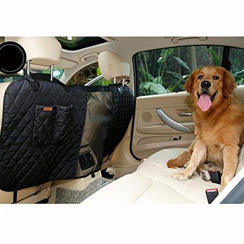 LPY-Pet Barrier, Hund Auto Barrier Sitz Mesh-Hindernis, einfach zu installieren für Auto, SUV, Truck , Black