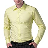 Being Fab Men's Solid 100% Cotton Regula...