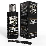 Gnarly Joe Champú 100% Natural para el Cuidado de la Barba | Contiene Jabón...
