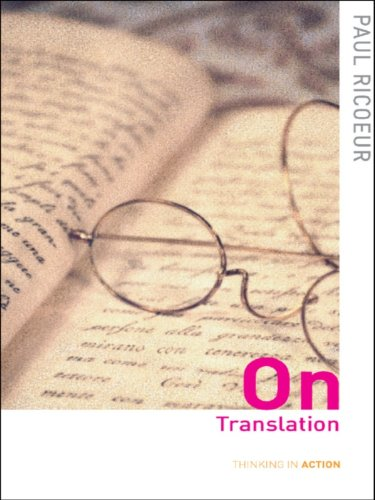 On Translation (Thinking in Action) (English Edition)