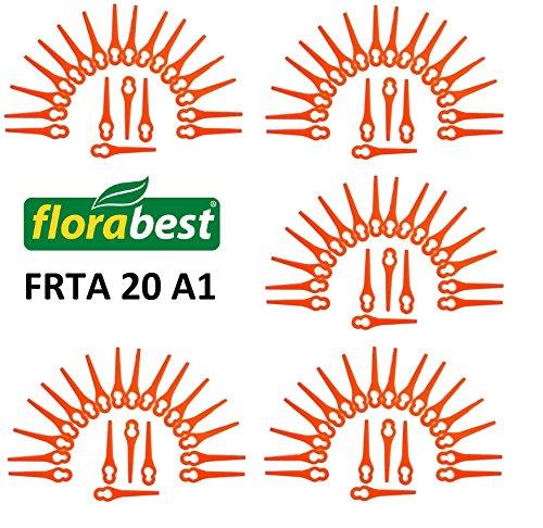 100Lame de rechange pour votre Flora Best Lidl Coupe-bordures sans fil frta 20A1Lidl Ian 282232Brosse