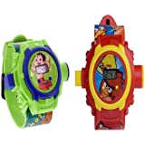 24 Images Projector Watchs For Kids Combo Pack Of 2 Clear Projection And Durablility