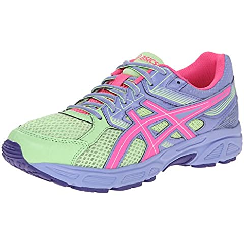 Asics GEL-Contend 3 GS Nina Morado Deportivas Zapatos Talla Nuevo EU 40