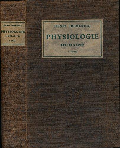 Traité élémentaire de physiologie humaine - Deuxième édition revue et corrigée - Index