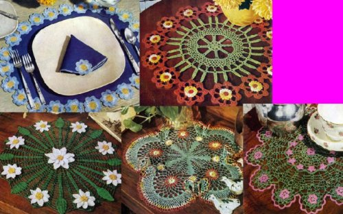 Ungewöhnliche Doily Blumenmuster für häkeln eBook: Unknown: Amazon ...