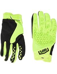 100 Percent AIRMATIC 100% Glove Yellow/Black MD Guantes para ocasión Especial, Hombre, Amarillo Y Negro, Mediano