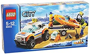 LEGO City Coast Guard 60012: 4x4 & Diving Boat