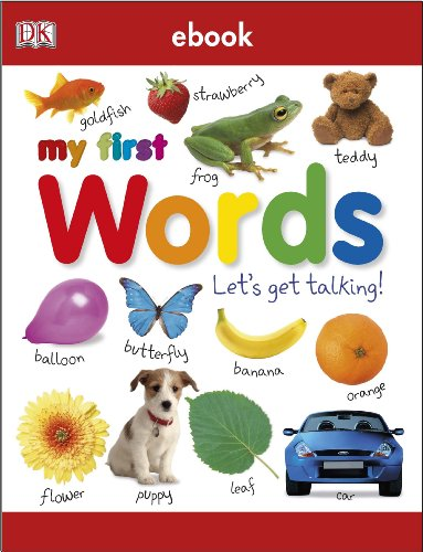 My First Words Let's Get Talking (My First Board Book)