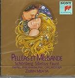 Pelléas et Mélisande op.5 : Poème symphonique pour orchestre op.5 : Suite pour petit orchestre : Musique de scène | Schoenberg, Arnold. Compositeur