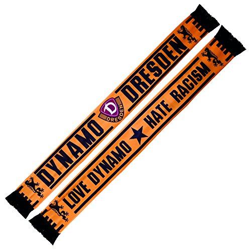 SG Dynamo Dresden Seidenschal Love Dynamo - Hate Racism