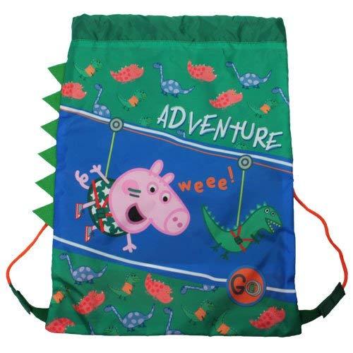 Peppa Pig Trainer Bag Sporttasche, 39 cm, 21 liters, Blau (Green) Peppa Pig Trainer
