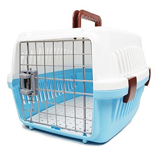 KKZLL Hund Katze Pet Airways box Versand Box portable Katze Käfig Hundebox Käfig Luft -