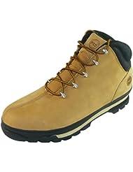 Timberland Pro UK 7 Splitrock de cuero S3 botas de seguridad punta de acero de tensión de trabajo - trigo
